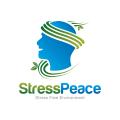 Stress Peace  logo