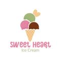 SweetHeart Ice Cream  logo