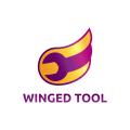 翅膀的工具Logo