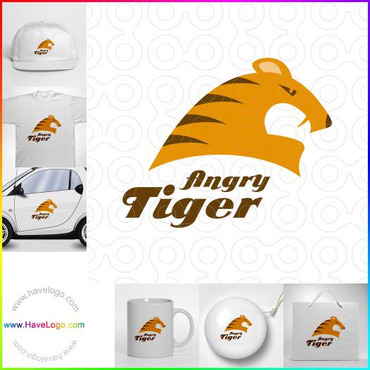 tiger logo - ID:17578
