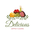 Delicious Appetizers  logo