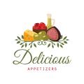 美味的開胃菜Logo