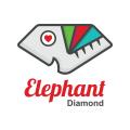Elephant Diamond  logo