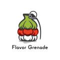 風味的手榴彈Logo