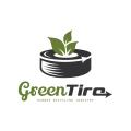 綠色輪胎Logo