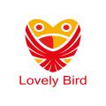 可愛的小鳥Logo