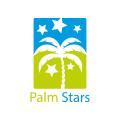 Palm Stars  logo