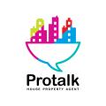 Protalk  logo