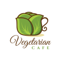 素食館Logo