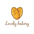 lovely bakery  logo