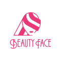 美女的臉Logo
