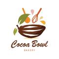 可可的碗Logo