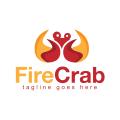 Fire Crab  logo