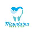 山的牙科Logo