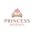 公主的甜點Logo