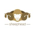 羊的頭Logo