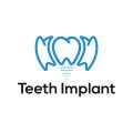 Teeth Implant  logo
