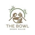 希臘沙拉碗Logo