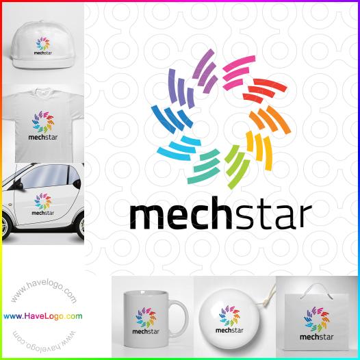 機械logo設計 - ID:35308