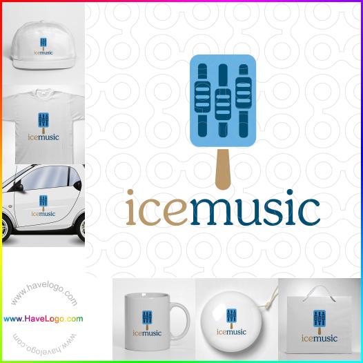 冰音樂logo設計 - ID:65671