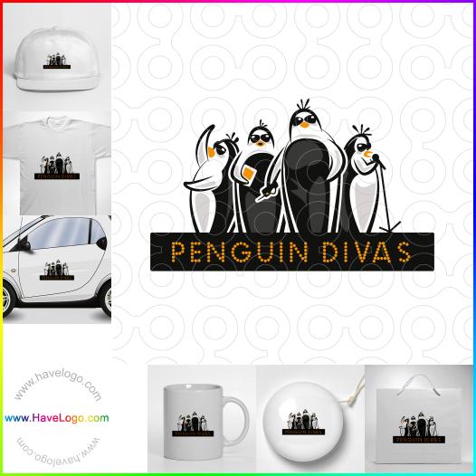 企鵝logo設計 - ID:35492
