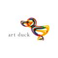 鴨Logo