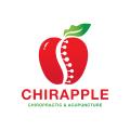 chirapple按摩,針灸Logo