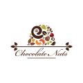 巧克力堅果Logo