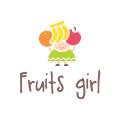 Fruits Girl  logo