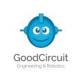 好的電路工程和機器人Logo