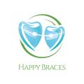 快樂的支撐Logo
