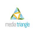 Media Triangle  logo
