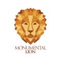 Monumental Lion  logo