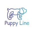 小狗線Logo