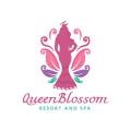 女王花Logo