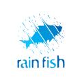 Rain Fish  logo