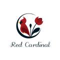 Red Cardinal  logo