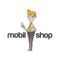mobil shop  logo
