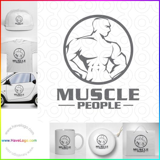 muscle logo - ID:58590