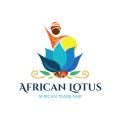 African Lotus  logo