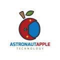 Astronaut Apple  logo