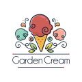 花園裡的冰淇淋Logo