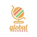 Global Burgers  logo