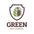 綠色病蟲害防治Logo