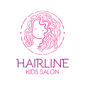 Hair Line Kids Salon  logo