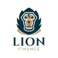 獅子的金融Logo