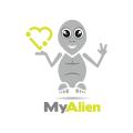 我的外星人Logo