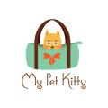 我的寵物貓Logo