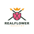 Real Flower  logo