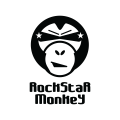 RockStar Monkey  logo